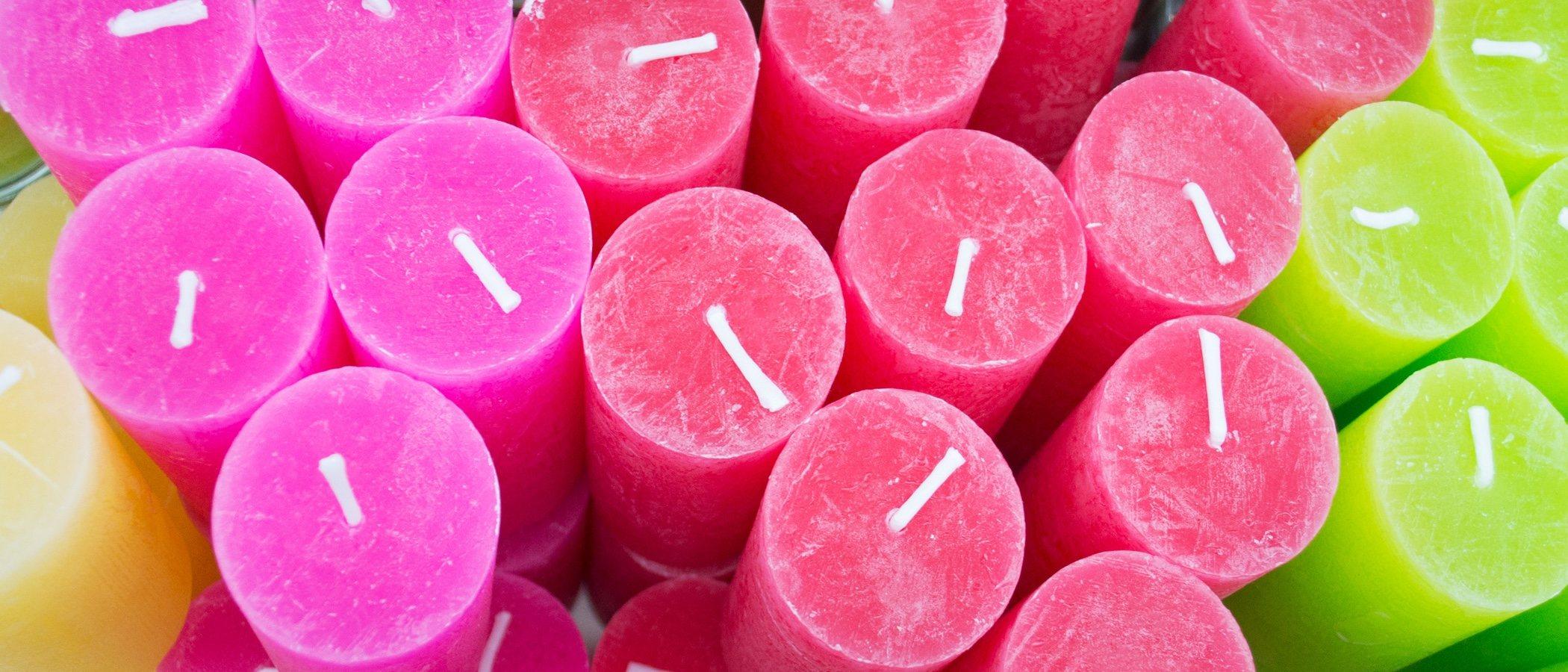 El significado del color de las velas y cómo utilizarlas