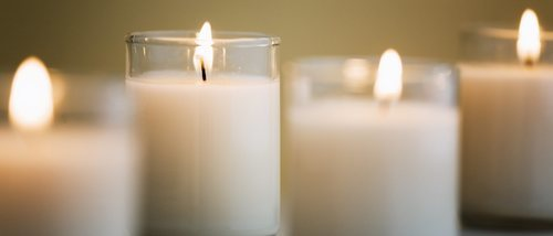 Rituales con velas blancas