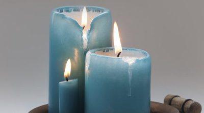 Rituales prohibidos con velas azules